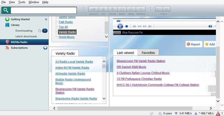BitZilla - Imagem 1 do software