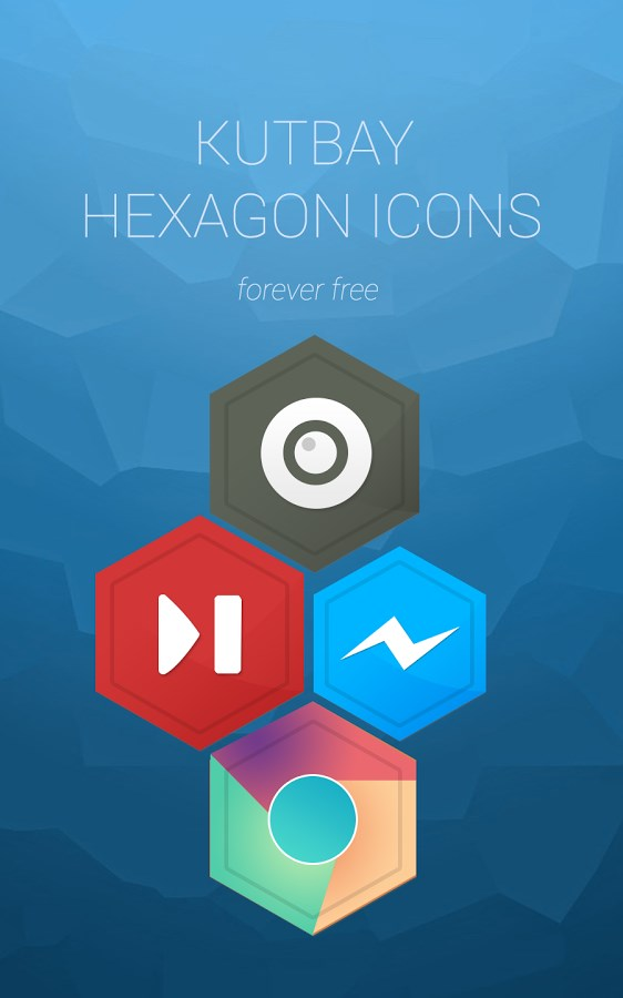 Kutbay - Hexagon Icon Pack - Imagem 1 do software