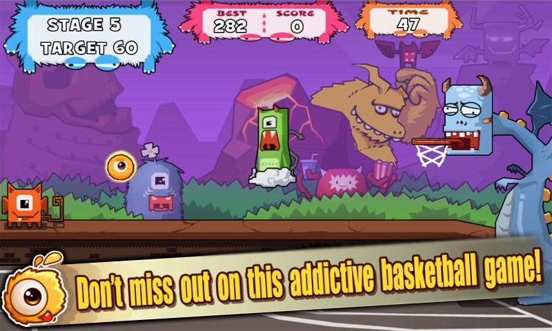 Monster Basketball - Imagem 1 do software