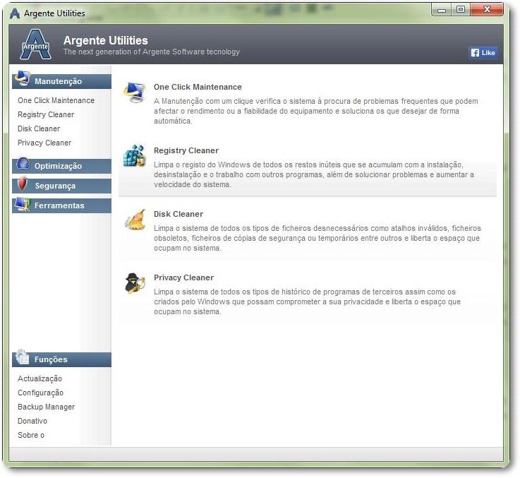 Argente Utilities - Imagem 1 do software