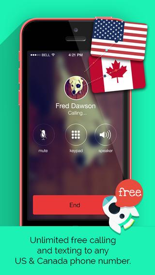 UppTalk Free Calls SMS & text - Imagem 1 do software