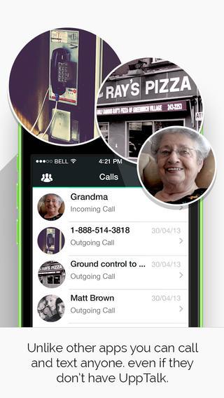 UppTalk Free Calls SMS & text - Imagem 2 do software