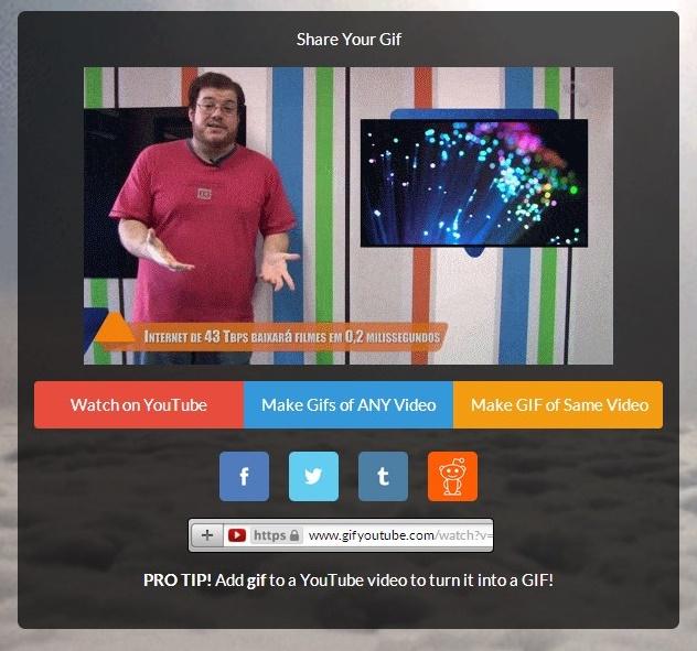 GifYouTube - Imagem 1 do software