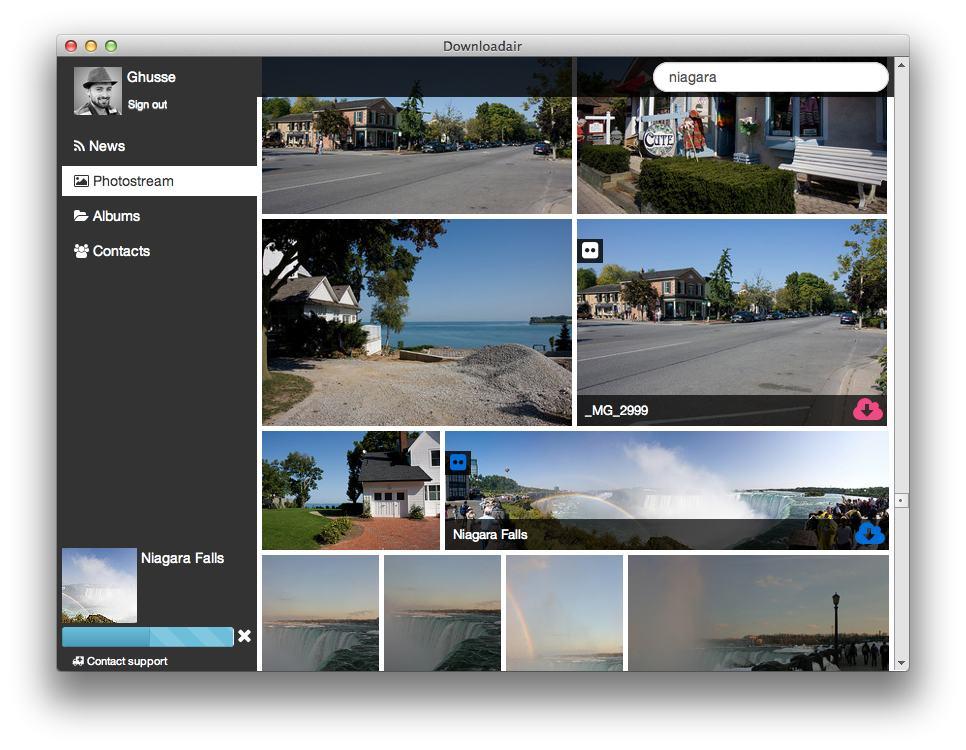 Downloadair - Imagem 1 do software