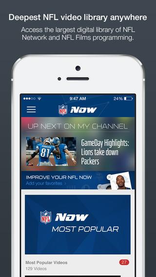 NFL Now - Imagem 2 do software