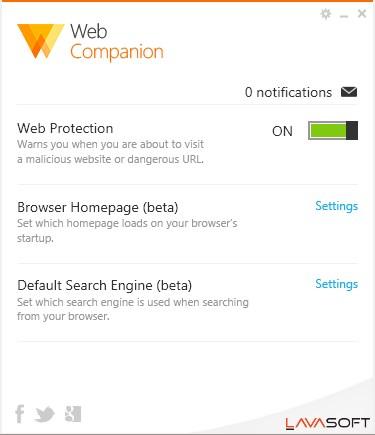 Web Companion - Imagem 1 do software