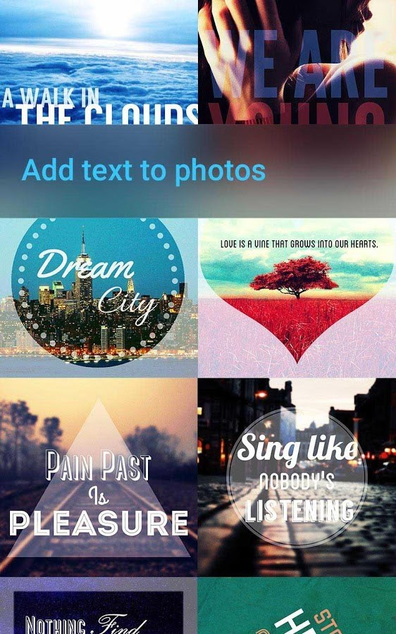 Font Studio - text on photo - Imagem 1 do software