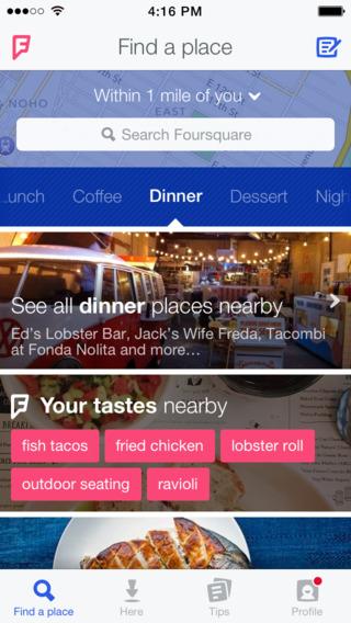 Foursquare - Imagem 2 do software