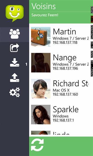 Wifi File Transfer - Feem - Imagem 1 do software