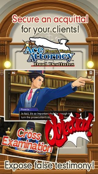 Phoenix Wright: Ace Attorney - Dual Destinies - Imagem 1 do software