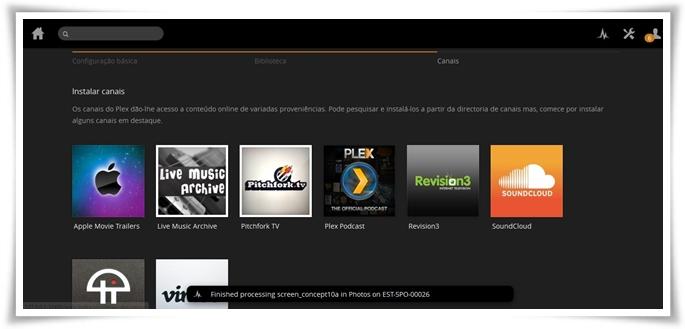 Plex Media Server - Imagem 1 do software