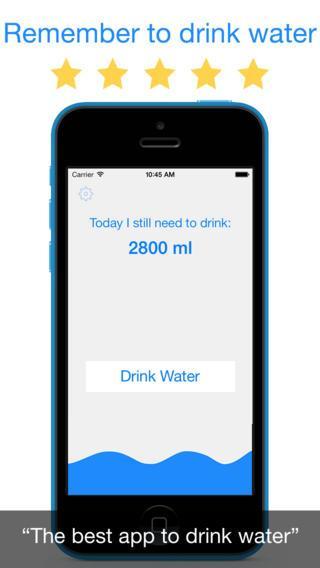 Beber Água - Imagem 1 do software