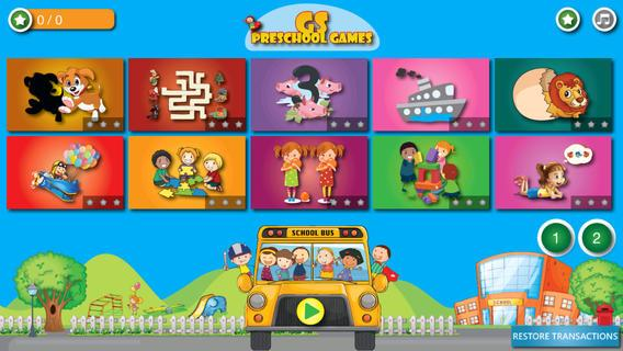 GS Preschool Games - Imagem 1 do software