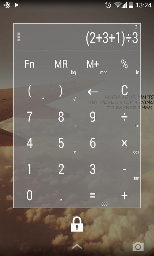 Calculator Widget Themes - Imagem 1 do software