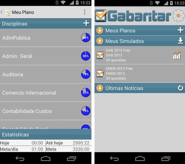 Gabaritar - Imagem 2 do software