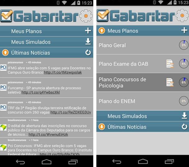 Gabaritar - Imagem 1 do software