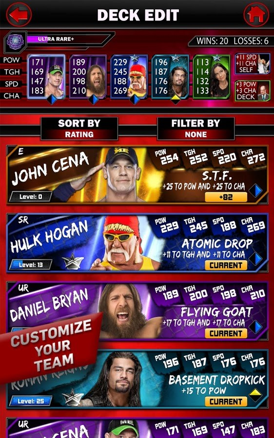 WWE SuperCard - Imagem 1 do software
