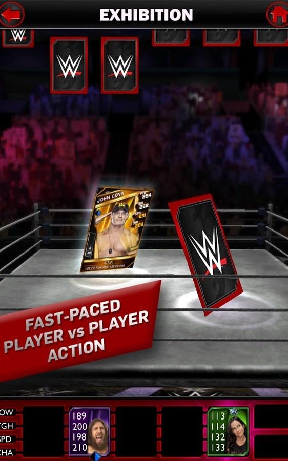 WWE SuperCard - Imagem 2 do software