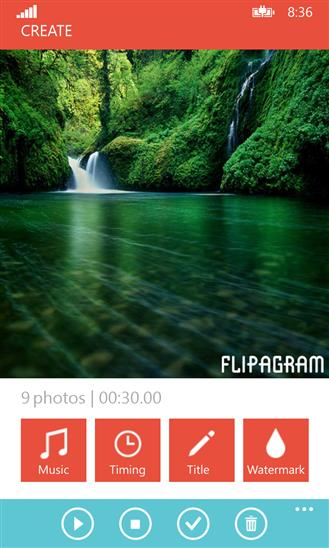 Flipagram - Imagem 2 do software