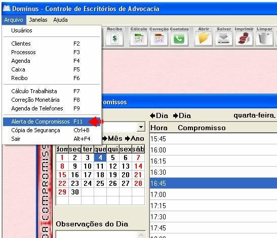 Dominus Controle de Escritórios - Imagem 1 do software