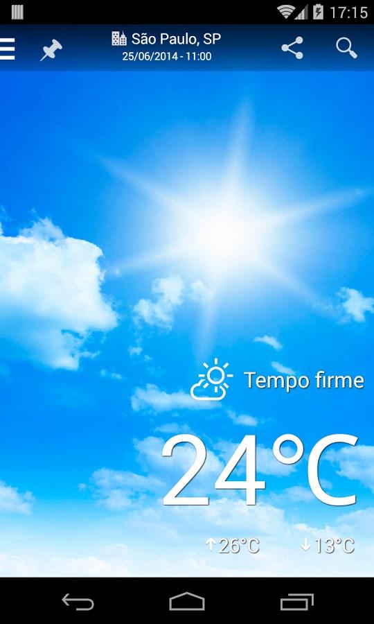 Climatempo - Previsão do Tempo - Imagem 1 do software