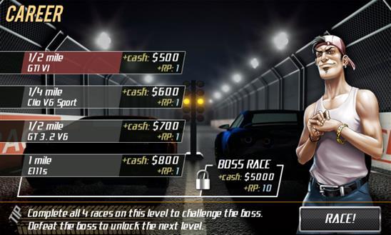 Drag Racing - Imagem 2 do software