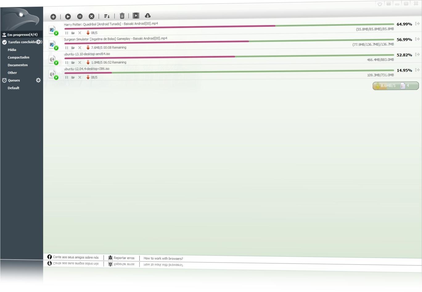 EagleGet - Imagem 3 do software
