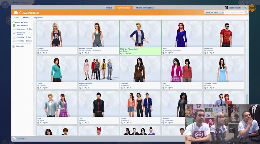 sites para baixar conteudo personalizado the sims 4
