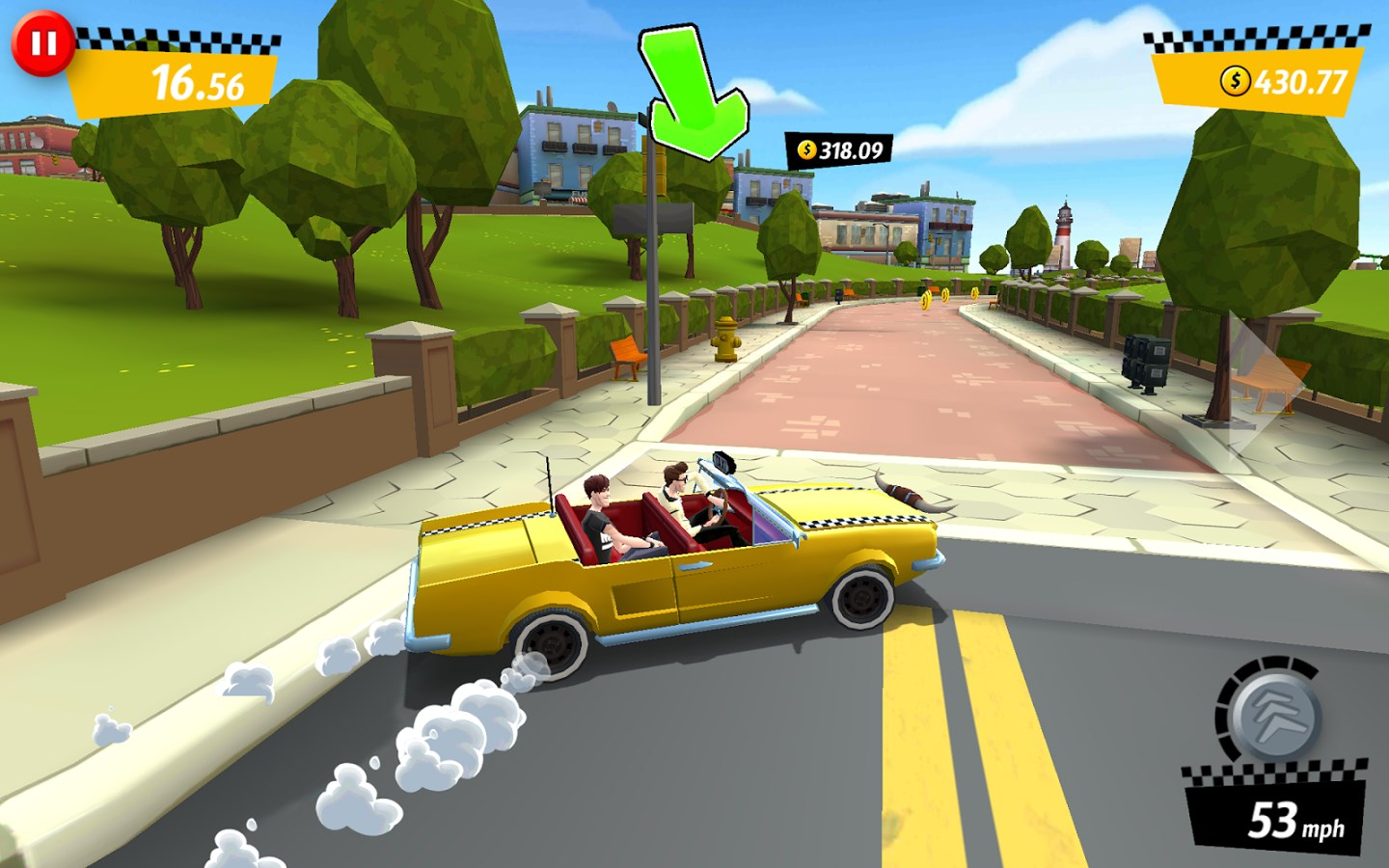 Crazy Taxi City Rush - Imagem 2 do software