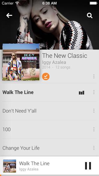 Google Play Music - Imagem 2 do software