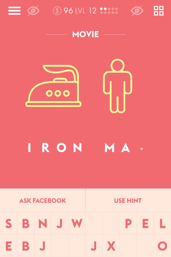 Iconic - Guess The Name From Picture Icons - Imagem 1 do software