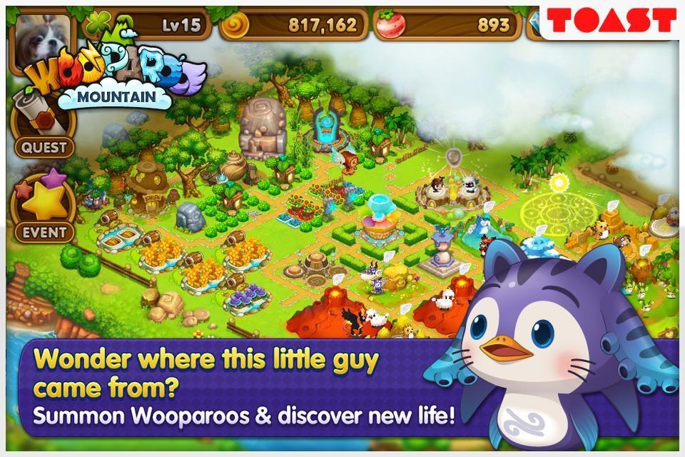 Wooparoo Mountain - Imagem 1 do software