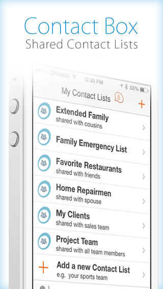 ContactBox - Shared Contacts - Imagem 1 do software
