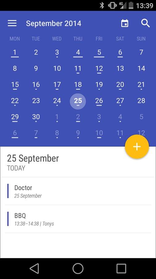 Today Calendar Trial - Imagem 1 do software