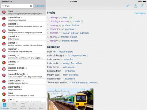 Dicionário Inglês Português - Imagem 1 do software