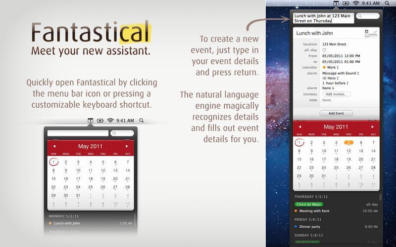 Fantastical - Calendar and Reminders - Imagem 1 do software