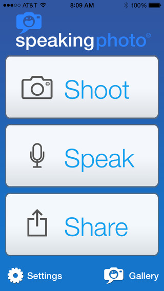SpeakingPhoto - Imagem 1 do software