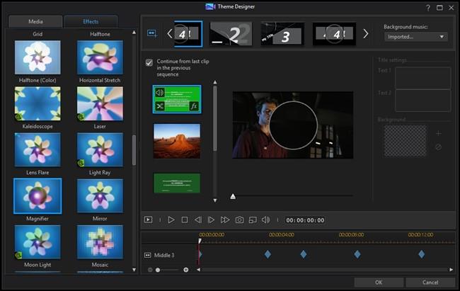 CyberLink PowerDirector - Imagem 5 do software