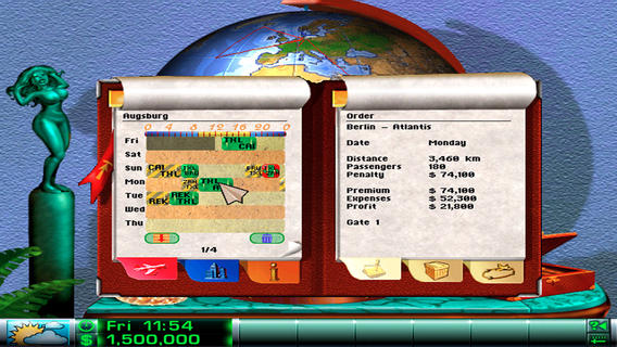 Airline Tycoon Deluxe - Imagem 1 do software