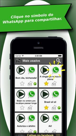 Sons Engraçados para WhatsApp - Imagem 1 do software