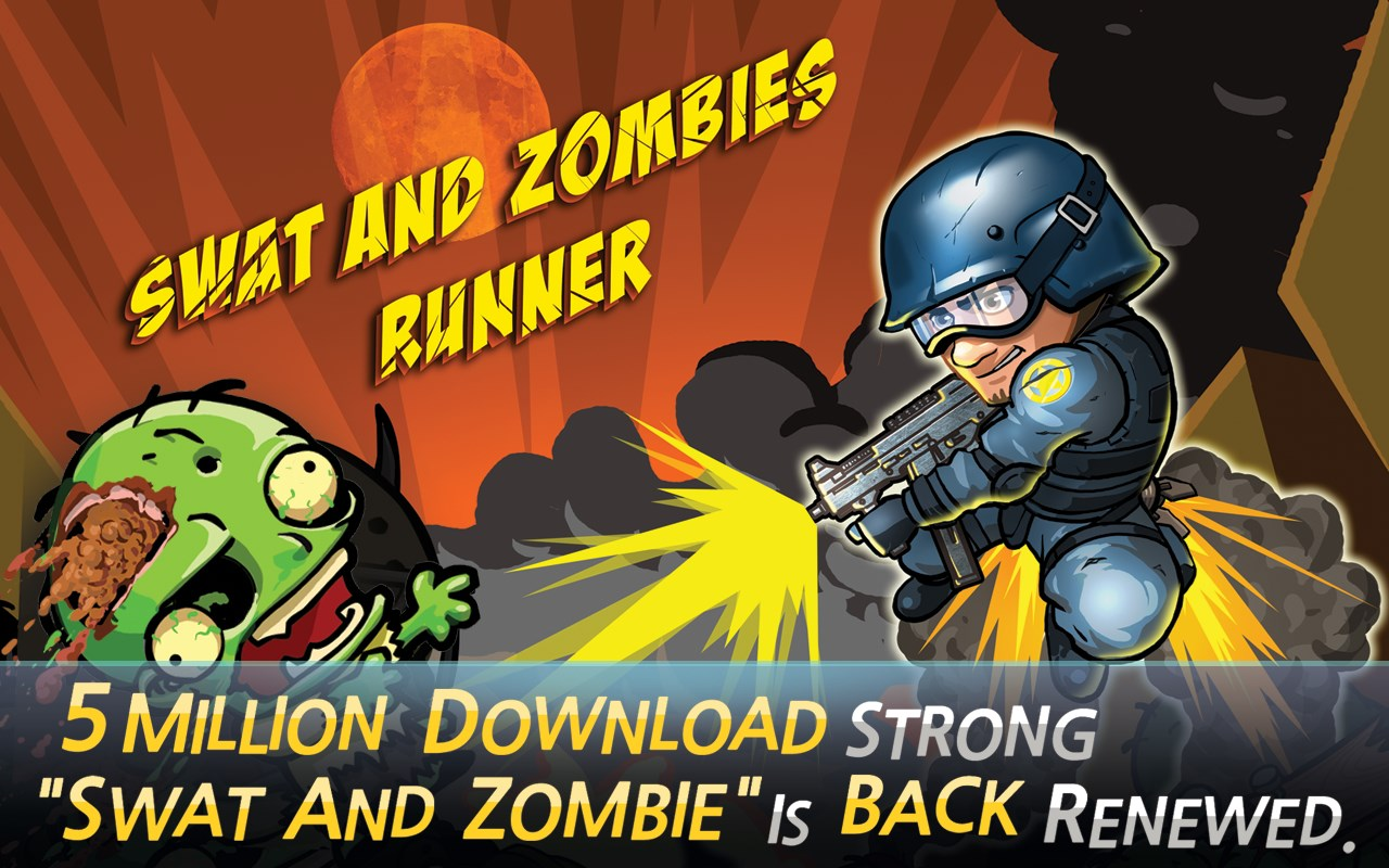 SWAT and Zombies Runner - Imagem 1 do software