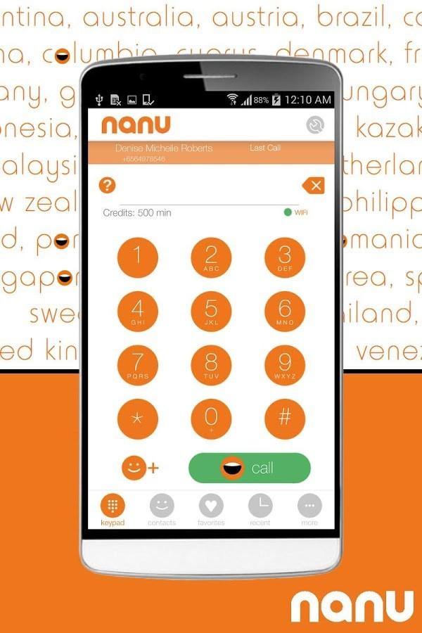 nanu - free calls for everyone - Imagem 1 do software