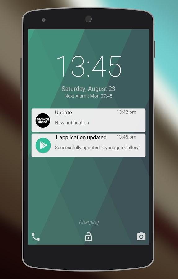 Ultimate Android L Lockscreen - Imagem 1 do software