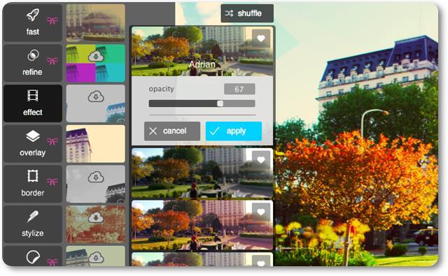 Pixlr Desktop - Imagem 2 do software