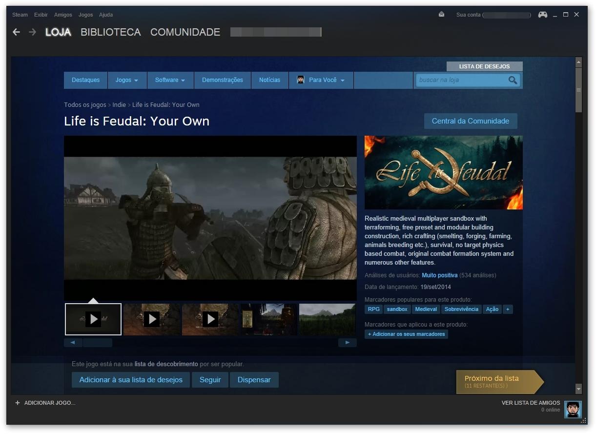 Steam Download para Windows em Português Grátis