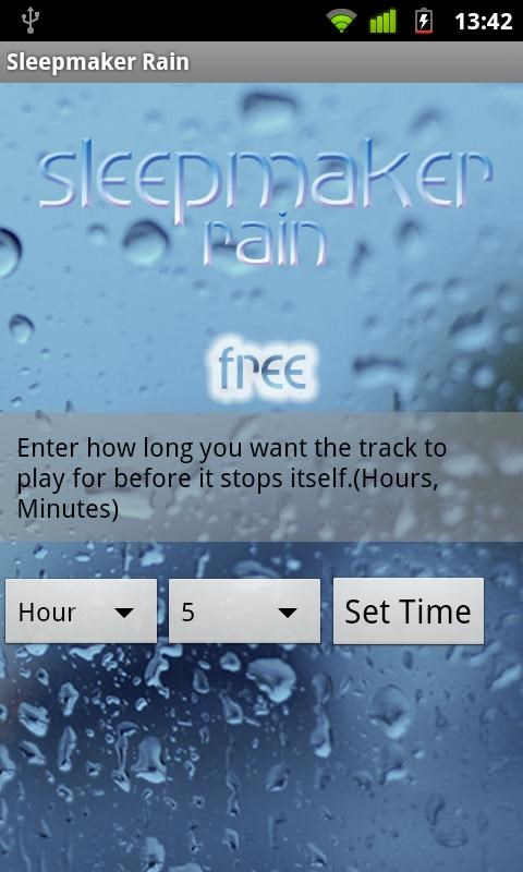Sleepmaker Rain - Imagem 2 do software