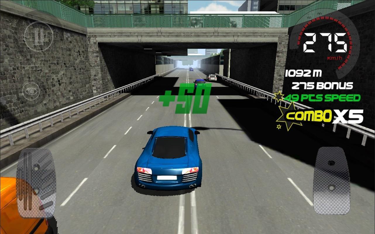 Traffic Clash : race in Paris - Imagem 1 do software