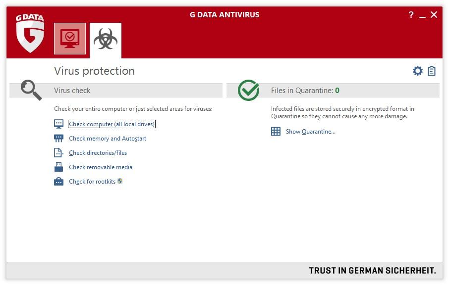 G Data AntiVirus - Imagem 2 do software