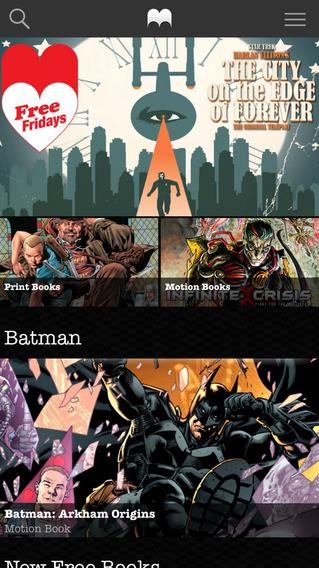 Madefire Motion Books & Comics - Imagem 1 do software