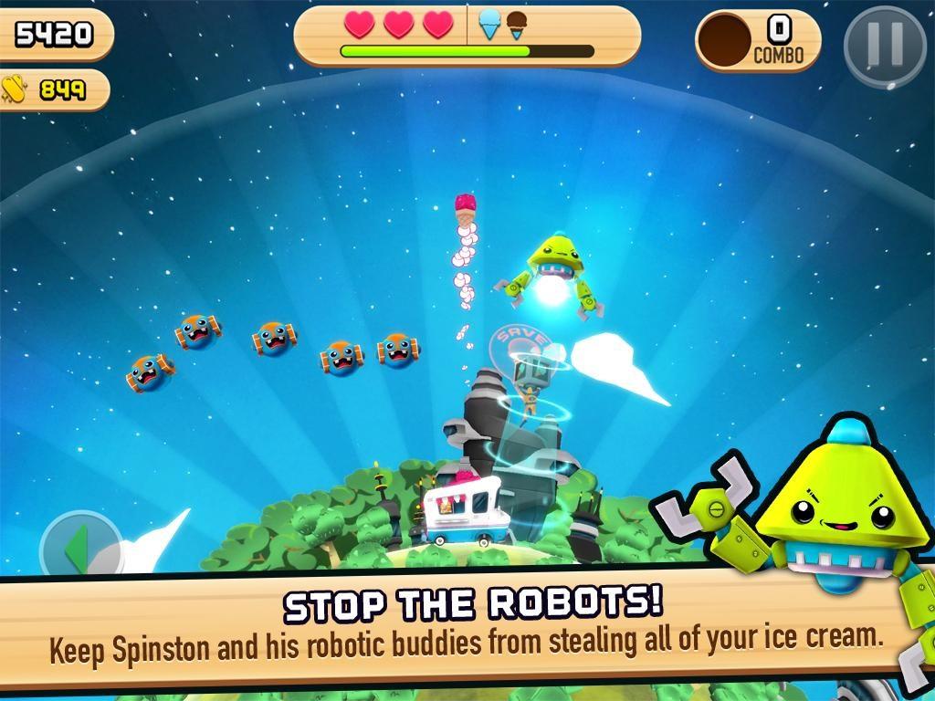 Robots Love Ice Cream - Imagem 1 do software